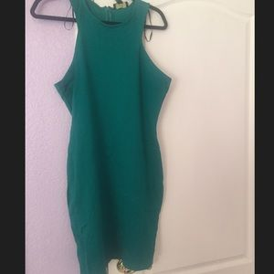 Green Tank Dress Plus